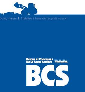 BCS : Bétons et Concassées de la Haute Sambre